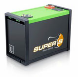 Lithium-ion batterij Super B 160 Ah 12V LiFePO4 SB12V160E-ZC