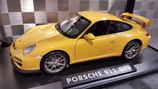 >12h: 2009 Porsche 911 991 GT3 yellow 1:18
