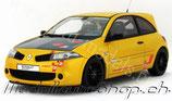 2010 Renault Megane R26R sirius-yellow 1:18