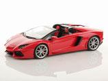 2011 Lamborghini Aventador LP700-4 Roadster rosso mars 1:18