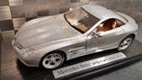 >12h: 1999 Mercedes Vision SLR silver 1:18