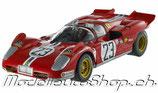 >12h: 1971 Ferrari 512S Spider 24 Hours Daytona #23 1:18