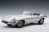 1961 Jaguar E-Type Roadster Series 1 3.8 silver 1:18
