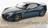 2007 Alfa Romeo 8C blue abu dhabi 1:18
