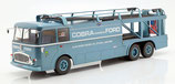Norev 1:18 Fiat Bartoletti 306/2 Shelby Cobra Renntransporter 1964 hellblau-metallic Alan Mann Racing Ltd
