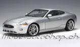 2006 Jaguar XKR Coupe silver 1:18