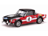 >12h: 1972 Fiat 124 Abarth Winner Rallye Acropolis #4 H.Lindberg / H.Eisendle 1:18