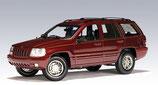 1999 Jeep Grand Cherokee darkred metallic 1:18