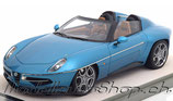 Alfa Romeo Disco Volante Spider 2016 metallic light-blue 1:18, (TM15B)