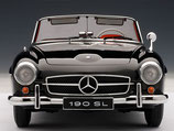 1955 Mercedes 190 SL black  1:18
