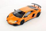 2018 Lamborghini Aventador LP750-4 SV arancio atlas 1:18