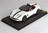 2014 Ferrari F60 America avus-white / blue nart 1:18