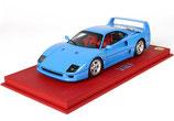 1987 Ferrari F40 blu chiaro 1:18