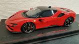 2019 Ferrari SF90 stradale rosso corsa 322 1:18