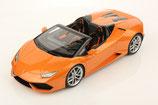 2016 Lamborghini Huracán LP610-4 Spyder arancio borealis 1:18