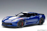 2017 Corvette Grand Sport admiral-blue 1:18