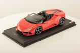 2019 Lamborghini Huracán EVO Spyder arancio xanto 1:18