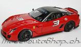 >12h: 2009 Ferrari 599 XX Versione Clienti #3 1:18