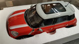 >12h: 2010 Mini Countryman red-white 1:18