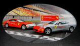 >12h: 2005 2x Ferrari 612 Scalietti 15'000 red Miles China Tour 1:18