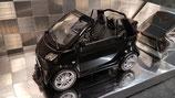 >12h: 1999 Smart BRABUS fortwo Cabrio  black 1:18