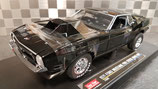 >12h: 1971 Ford Mustang Pro Stock Drag Car black 1:18
