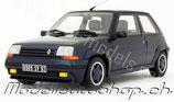 1989 Renault 5 GT Turbo Alain Oreille dunkelblau 1:18