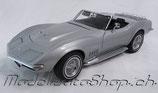 1969 Corvette Cabrio silver 1:18