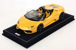 2016 Lamborghini Huracán LP610-4 Spyder giallo midas 1:18