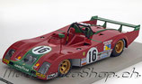 1973 Ferrari 312PB Long Tail LeMans #16, Merzario/Pace  1:18