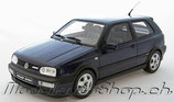 1992 VW Golf 3 VR6 blue 1:18