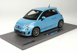 2013 Fiat Abarth 595 light blue 1:18