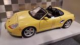 >12h: 1996 Porsche Boxster S yellow 1:18