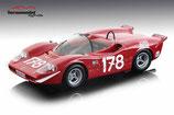1969 Abarth 2000S Winner Targa Florio #178, Bitter/Kelleners 1:18
