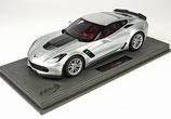 2015 Corvette Z06 silver Shark 1:18