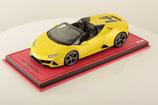 2019 Lamborghini Huracán EVO Spyder giallo tenerife 1:18
