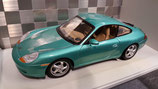 >12h: 1997 Porsche 911 996 Coupe green metallic 1:18