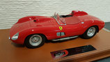 1957 Ferrari 315S / 335S rosso corsa 322 1:18