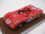 1971 Ferrari 312PB Monza 1000 km #15 Regazzoni / Ickx  1:18