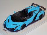 2015 Lamborghini Veneno Roadster light blue 1:18