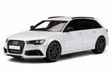 2013 Audi RS6 Avant (C7) performance-white 1:18