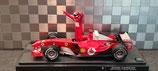 >12h: 2004 Ferrari F1 Michael Schumacher World Champion 1:18