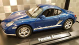 >12h: 2009 Porsche Cayman blue metallic 1:18