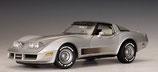 1982 Corvette silver 1:18