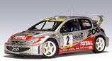 >12h: 2001 Peugeot 206 WRC #21- D.Auriol / D.Giraudet 1:18