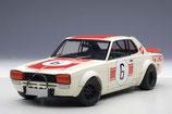 >12h: 1971 Nissan Skyline GT-R Racing Japan GP Winner #6  1:18