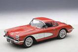 1958 Corvette roman-red / white 1:18