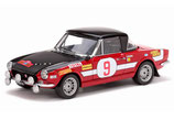 >12h: 1971 Fiat 124 Abarth Winner Rallye Elba #9 L.Trombotto / M.Enrico 1:18