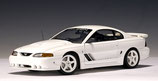 1995 Ford Mustang Saleen S351 white 1:18
