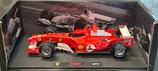 >12h: 2004 Ferrari F1 Michael Schumacher GP Belgien 1:18